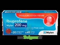 Ibuprofene Mylan 200 Mg, Comprimé Enrobé à Sassenage