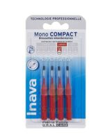 Inava Brossettes Mono-compact Rouge Iso 4 1,5mm à Sassenage