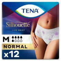 Tena Lady Silhouette Slip Absorbant Blanc Normal Médium Paquet/12 à Sassenage