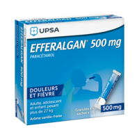 Efferalgan 500 Mg Glé En Sachet Sach/16 à Sassenage