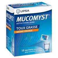 Mucomyst 200 Mg Poudre Pour Solution Buvable En Sachet B/18 à Sassenage