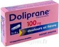 Doliprane 100 Mg Suppositoires Sécables 2plq/5 (10) à Sassenage