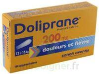 Doliprane 200 Mg Suppositoires 2plq/5 (10) à Sassenage