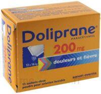 Doliprane 200 Mg Poudre Pour Solution Buvable En Sachet-dose B/12 à Sassenage