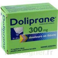 Doliprane 300 Mg Poudre Pour Solution Buvable En Sachet-dose B/12 à Sassenage