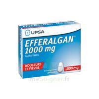 Efferalgan 1000 Mg Comprimés Pelliculés Plq/8 à Sassenage