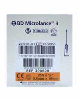 Bd Microlance 3, G25 5/8, 0,5 Mm X 16 Mm, Orange  à Sassenage