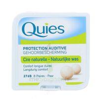 Quies Protection Auditive Cire Naturelle 8 Paires à Sassenage