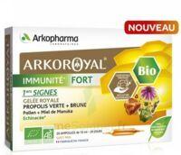 Arkoroyal Immunité Fort Solution Buvable 20 Ampoules/10ml à Sassenage