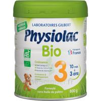 Physiolac Bio Lait 3éme Age 800g à Sassenage