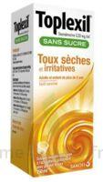 Toplexil 0,33 Mg/ml Sans Sucre Solution Buvable 150ml à Sassenage