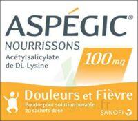 Aspegic Nourrissons 100 Mg, Poudre Pour Solution Buvable En Sachet-dose à Sassenage