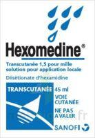 Hexomedine Transcutanee 1,5 Pour Mille, Solution Pour Application Locale à Sassenage