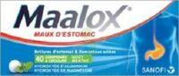 Maalox Hydroxyde D'aluminium/hydroxyde De Magnesium 400 Mg/400 Mg Cpr à Croquer Maux D'estomac Plq/40 à Sassenage