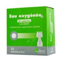 Eau Oxygenee 10 Volumes Gilbert, Solution Pour Application Cutanée En Récipient Unidose à Sassenage