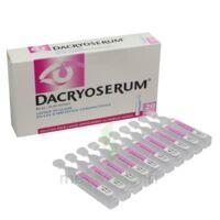 Dacryoserum Solution Pour Lavage Ophtalmique En Récipient Unidose 20unidoses/5ml à Sassenage