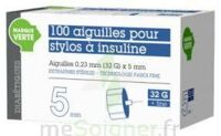 Soludiab Aiguilles Stylos Insuline 5mm Fines 31g – Bt100 à Sassenage