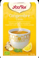 Yogi Tea Gingembre Citron à Sassenage