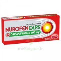Nurofencaps 400 Mg Caps Molle Plq/10 à Sassenage