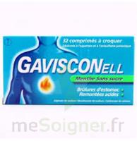 Gavisconell Coprimés à Croquer Sans Sucre Menthe édulcoré à L'aspartam Et à L'acésulfame Potas Plq/24 à Sassenage