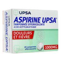 Aspirine Upsa Tamponnee Effervescente 1000 Mg, Comprimé Effervescent à Sassenage