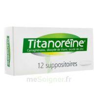 Titanoreine Suppositoires B/12 à Sassenage