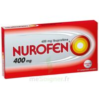 Nurofen 400 Mg Comprimés Enrobés Plq/12 à Sassenage