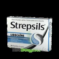 Strepsils Lidocaïne Pastilles Plq/24 à Sassenage
