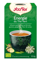Yogi Tea Thé énergie Du Thé Vert Bio 17 Sachets à Sassenage