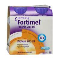 Fortimel Protein Nutriment Caramel 4 Bouteilles/200ml à Sassenage