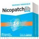 Nicopatchlib 14 Mg/24 H Dispositifs Transdermiques B/7 à Sassenage