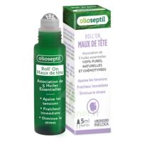 Olioseptil Huile Essentielle Maux De Tête Roll-on/5ml à Sassenage