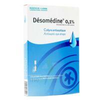 Desomedine 0,1 % Collyre Sol 10fl/0,6ml à Sassenage