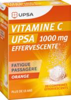Vitamine C Upsa Effervescente 1000 Mg, Comprimé Effervescent à Sassenage
