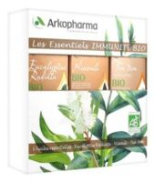 Arkopharma Les Essentiels Immunité Bio Huiles Essentielles 3fl/10ml à Sassenage